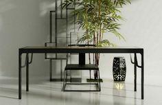 http://www.pinterest.com/joliesarts ∗ »☆Elysian-Interiors ♕Simply Divine #Interiordesign ~ Chinese table or desk ~