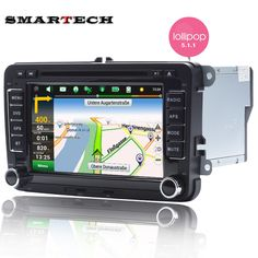 7 Дюймов Автомобиля Навигации GPS Для Фольксваген Сеат Шкода Dvd-плеер для Android 5. 1.1 Радио Для VW 1024*600 HD 2 Din Головное устройство USB аудио