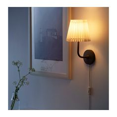 "AL""NG Wall lamp nickel plated white IKEA FAMILY member price"