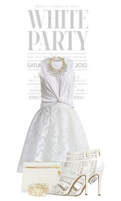 """""""WHITE PARTY"""" by patigshively on Polyvore"""