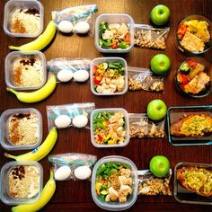 21 Meal Prep Pics from the Healthiest People on Instagram | How to | Eat Clean | Pinterest ...
