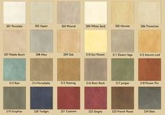 Variance Specialty Finishes: Interior Wall Colors and Exterior Stucco Colors