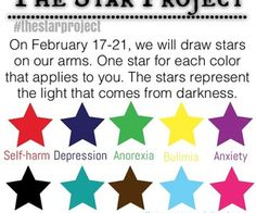 the stars project self-harm - Google Search