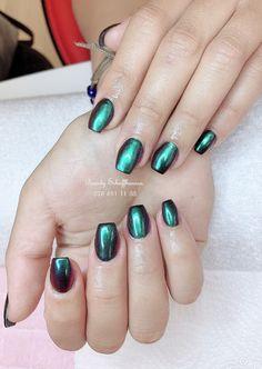 Chrome Nails - ballerina Form Acetone, Chrome Nails, Perfect Nails, Trendy Colors, Summer Colors, Natural Nails, You Nailed It, Nail Colors, My Nails