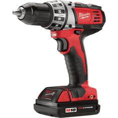 FREE SHIPPING — Milwaukee M18 Compact Cordless 1/2in. Drill/Driver & 1/4in. Hex Impact Driver Combo Kit — With 2 Batteries, Model# 2691-22