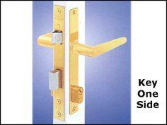 UNAVAIL. Papaiz MZ35 Storm Door LOCK - Replacement Avail. Front Door Locks, Smart Door Locks, Bookends, Doors, Gate