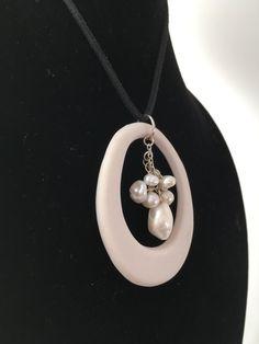 Washer Necklace, Pottery, Earth, Jewelry, Fashion, Ceramica, Moda, Jewlery, Jewerly