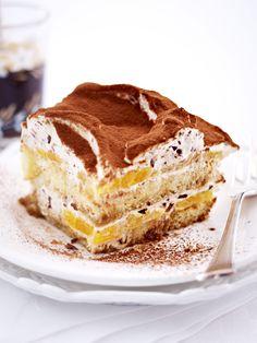 Da fühlt man sich doch fast wie in Italien ? Orangen-Stracciatella-Tiramisu (Orange Mini Muffin)