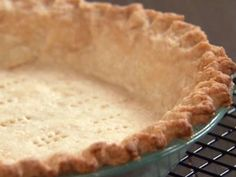 Perfectly Flaky Pie Crust Cooking instructions here: http://allrecipes.com/howto/how-to-bake-a-pie-crust/