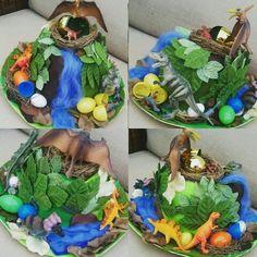 Dino egg easter bonnet