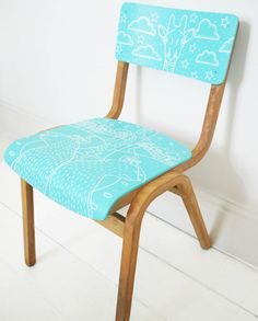 Upcycled School Chair: My Favourite Blog & Buy Sale Finds – hunkydory home
