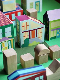 Print Paper House 8, Print and Make your own neigborhood, Free Printable Crafts for Kids, Printable Paper Toys Houses and Print a Street for fans of www.wonderweirded.com , with thanks to vivint for their series of print out pdfs
