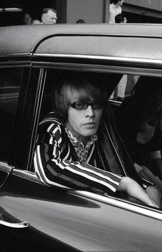 Brian Jones photographed by Linda McCartney.