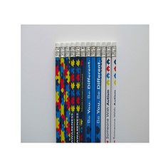 24 AUTISM Awareness PENCILS 7 12 2 pencils 4 designs Most Watched Item * For more information, visit image link.  This link participates in Amazon Service LLC Associates Program, a program designed to let participant earn advertising fees by advertising and linking to Amazon.com.