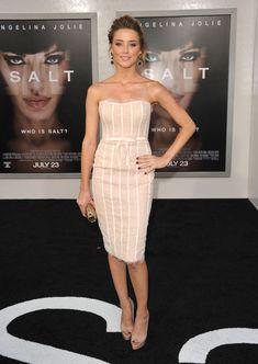 Amber Heard in Marchesa - Red Carpet