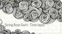 String Rose Swirl Time-lapse