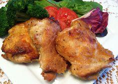 RECIPE: Coconut Honey Mustard Chicken Thighs