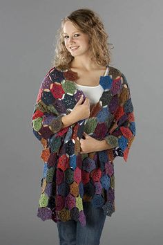 Poesie Medallion Crochet Shawl By Michael del Vecchio - free Crochet Pattern - (universalyarn)