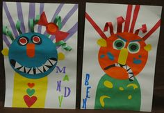 Create your own scary monsters!