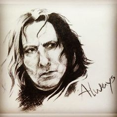 """440 Likes, 5 Comments - Severus Tobias Snape (@just.snape) on Instagram: """"Funny how you'll ALWAYS think of Severus whenever you hear,read or say the word ALWAYS...for the…"""""""