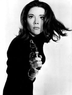 Diana Rigg (best known to modern audiences as Olenna Tyrell) as Emma Peel '60s.