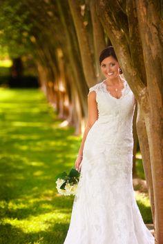 Outdoor park bridal portrait - Baton Rouge, LA