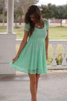 lace dresses!