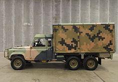 Land Rover Defender 6x6 Cargo - Australian Army