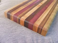 This tutorial will show how to make a wooden cutting board in 11 easy steps.