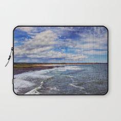 Coastal Daydreams Laptop Sleeve by vickifield