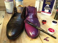 Расписываем красками старую обувь, сумки и текстиль. Мастер класс. Татьяна Лазарева - YouTube Doll Shoes, Dress Shoes, Tap Shoes, Dance Shoes, Domestic Goddess, Staying Alive, Hunter Boots, Diy Fashion, Designer Shoes