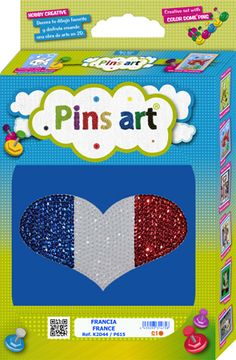 Kit Pins Art France - DIY - Hand made with love