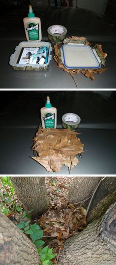 Nice camo cache posted to the geocaching forums.