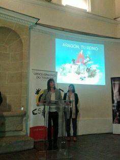 Lola Ranera, Concejala de Turismo del Ayuntamiento de Zaragoza.