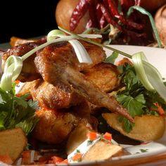 Édes-csípős csirkeszárnyak Recept képpel - Mindmegette.hu - Receptek Penne, Chicken Wings, Meat, Food, Essen, Meals, Yemek, Pens, Eten