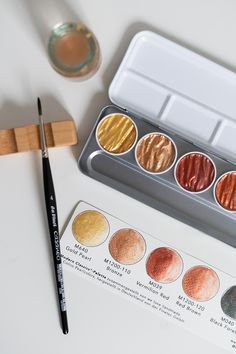 Watercolor Paintings, Eyeshadow, Office Supplies, Inspiration, Ideas, Drawings, Color Boards, Paint Run, Watercolor Painting
