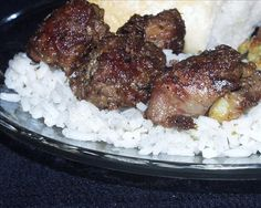 Chicken Livers With Rice Recipe