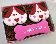 The perfect card from the dog!  A cookie card! Great for any occasion.