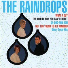 The Raindrops - The Kind of Boy You Can't Forget  Year: 1963 The song  hit #17 on the Billboard charts. The Raindrops were an American pop group from New York, associated with the Brill Building style of 1960s pop. The group existed from 1963 to 1965 and consisted of Ellie Greenwich and Jeff Barry, both of whom worked as writer/producers for numerous other acts before, during and after their tenure as The Raindrops