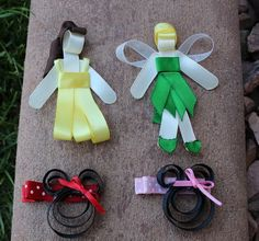 princess and minnie mouse pack - other cute packs too for hair clips