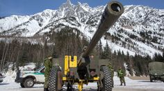 Canadian soldiers blast away avalanches   CTV News
