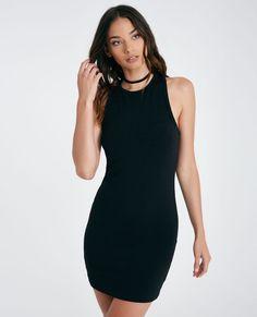 10/14/16  Brand/Designer: Wet Seal Material: Knit Dress Silhouette: Bodycon Closure/Back: Racerback