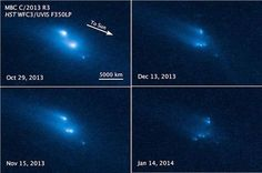 Hubble Witnesses Asteroid's Mysterious Disintegration - NASA Science
