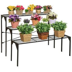 8 best tiered outdoor plant stands images plant stands tiered rh pinterest com