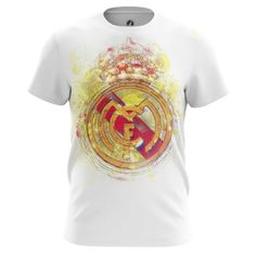f02cdbdb3bb Mens t-shirt FC Real Madrid Football Clothing fan art