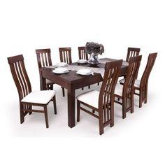 Lara étkező Leila asztallal 8 személyes gesztenye Dining Table, Furniture, Home Decor, Decoration Home, Room Decor, Dinner Table, Home Furnishings, Dining Room Table, Home Interior Design