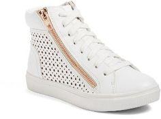Girl's Steve Madden Elkya High Top Sneaker