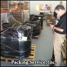 Professional Packing, Loading, Palletizing, and Shrink Wrapping Services. Hire us for your next move and you'll see why we're still A+ rated by the Better Business Bureau for the last 8 years. www.packingserviceinc.com 888-722-5774
