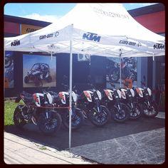 #diseño #carpa #impresion #ktm #canam #motos #tucuman
