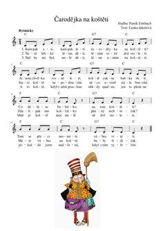 Veselá hudebka: ČARODĚJNICE , ČARODĚJKA, JEŽIBABA | Veselá Hudebka Kindergarten, Songs, How To Plan, Halloween, Kids, Kid, Young Children, Boys, Kindergartens